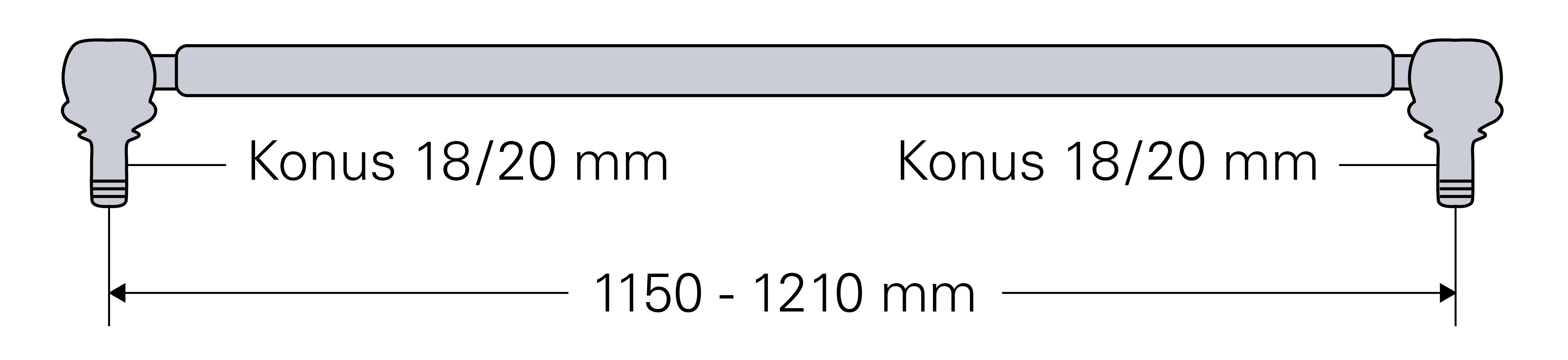 L=1150-1210mm Spurstange für Deutz D 5006 5206 5506 6206