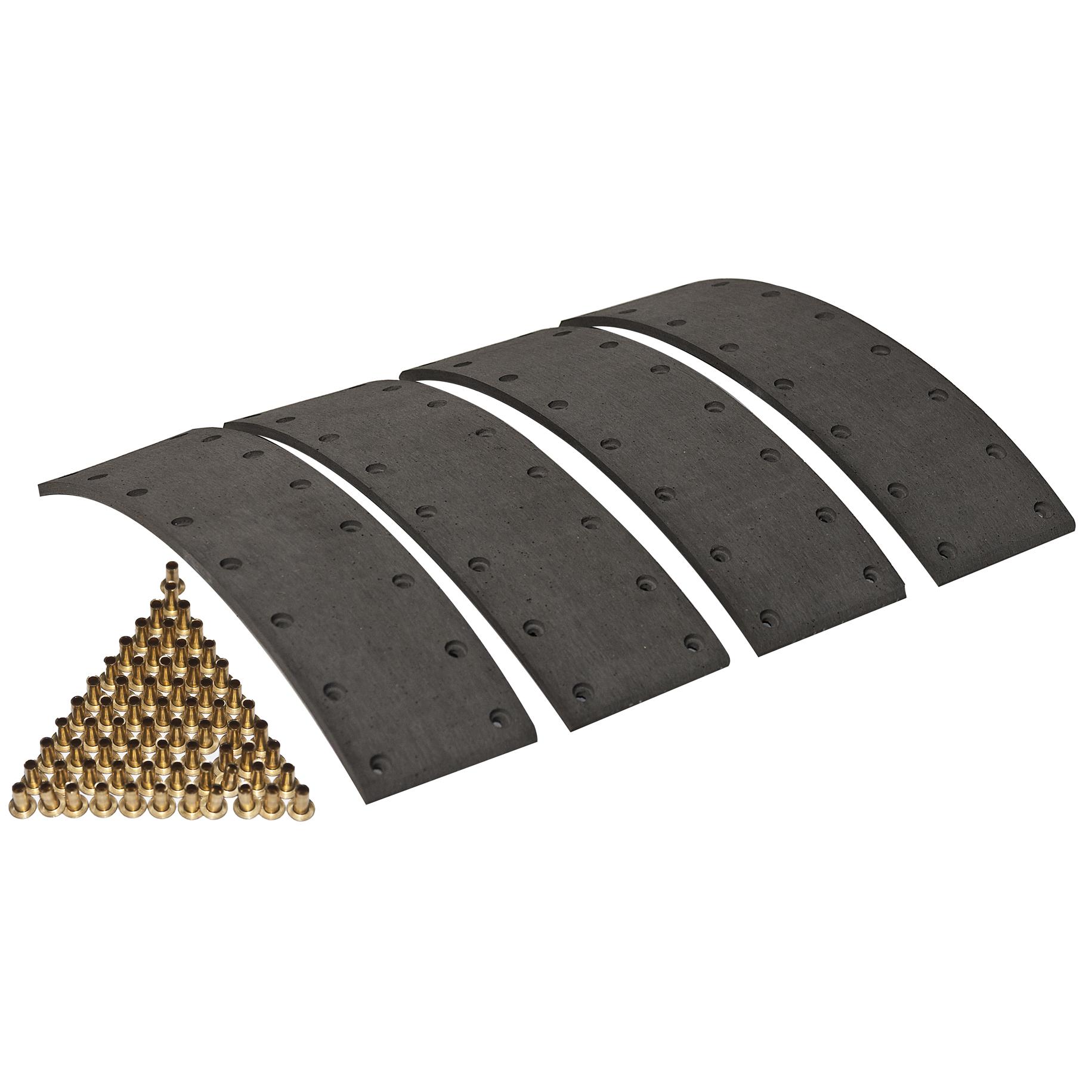 Bremsbacke 180x30 für Deutz D 6807 7007-7807 DX 3.70 3.90 AgroCompact 3.30 3.50