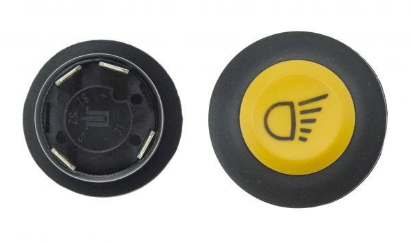 Druckknopfschalter Schalter Beleuchtung, Arbeitsscheinwerfer für Deutz