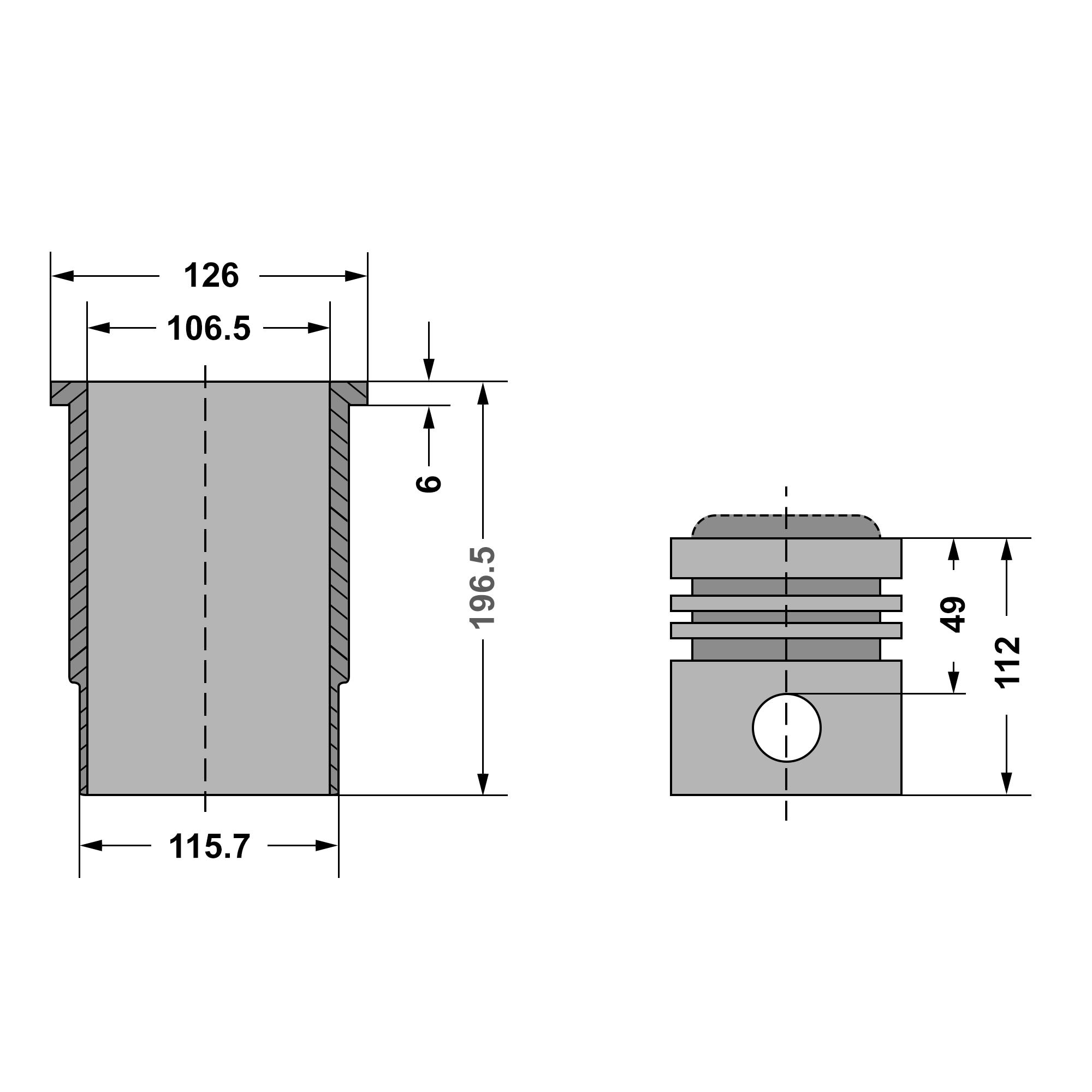 Kolben // Zylinder 3200 3640... für John Deere 1640