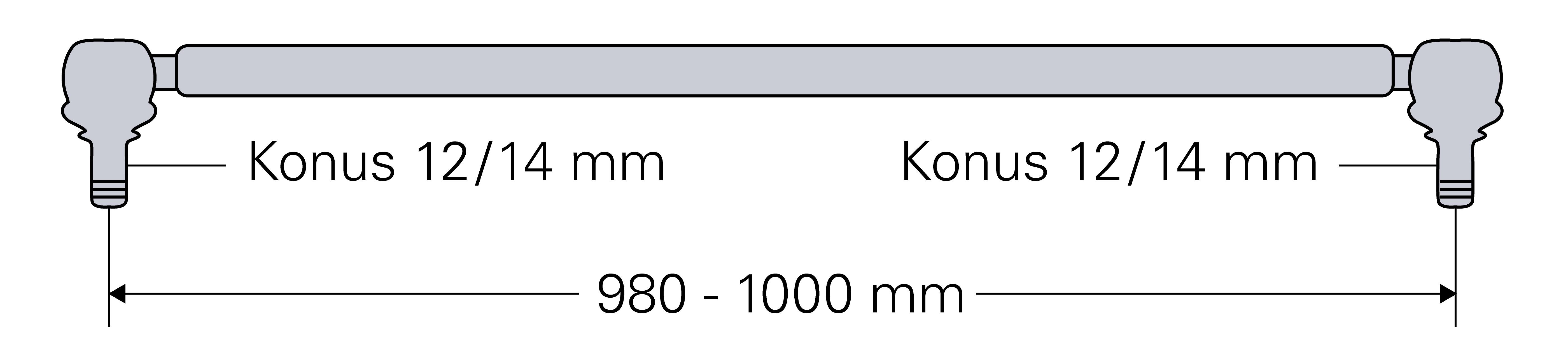 Länge 90 mm D 4506 Deutz Kugelgelenk f D 2506 Spurstange D 4006 D 3006